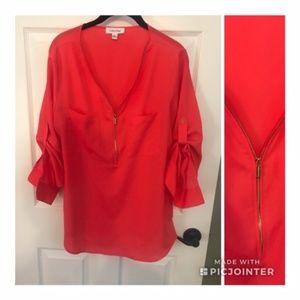 Calvin Klein 3/4-Full long sleeve Coral Shirt